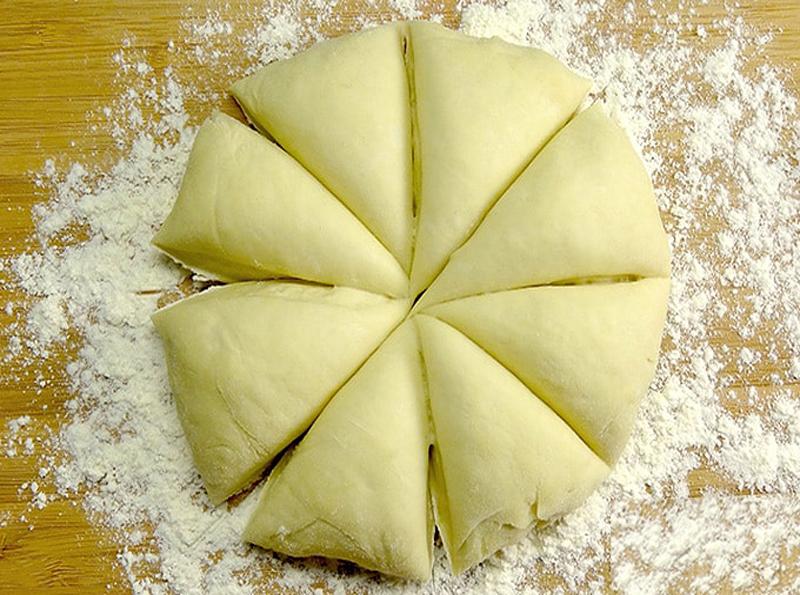 Masa para tortillas de harina